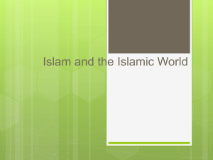 Islam and the Islamic World