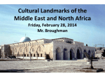 Cultural Landmarks of the Middle East and North Africa