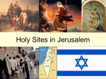 Holy Sites of Jerusalem PowerPoint