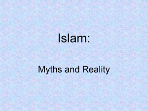 Intro to Islam PowerPoint presentation