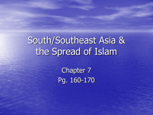 Islam & South/Southeast Asia