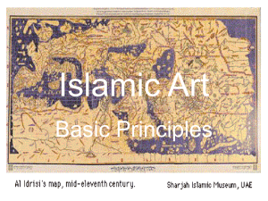 Principles of Islamic Art