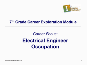 Electrical Engineer Occupation PowerPoint