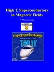 High Tc Superconductors in Magnetic Fields