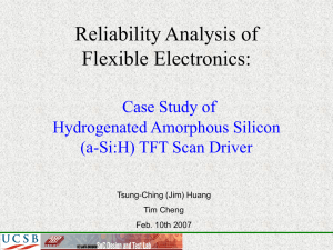 Reliability Analysis - University of California, Los Angeles