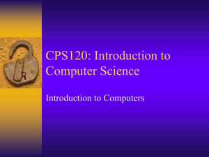 CPS120 - Washtenaw Community College