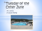 Tuesday of the Other June - Mountain View Middle School