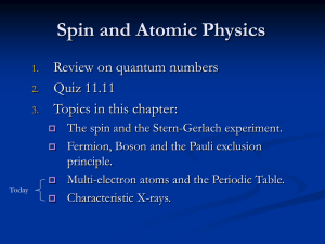 Precursors to Modern Physics