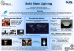 Solid state lighting poster
