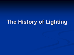 The History of Lighting