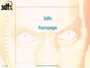 PowerPoint file, Rampage_Q3D_083199