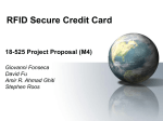 RFID Secure Credit Card 18