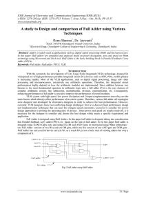 IOSR Journal of Electronics and Communication Engineering (IOSR-JECE)