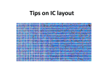 Tips on IC layout