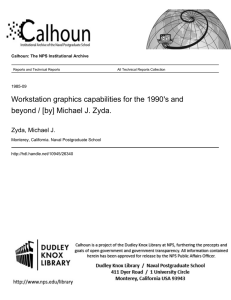 Workstation graphics capabilities for the 1990's and Zyda, Michael J.