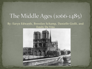 The Middle Ages (1066-1485)(finnnnnnnnnnnnnnnnnal).