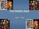 The Middle Ages - Strongsville City Schools