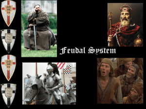 The Feudal System - HRSBSTAFF Home Page