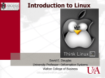 Intro and using Linux Commands