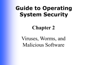 Guide to Operating System Security