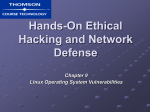 Hands-On Ethical Hacking and Network Security