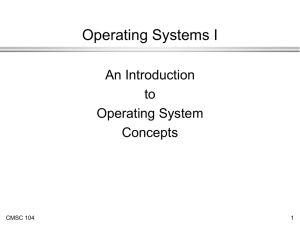 Evolution of Operating System