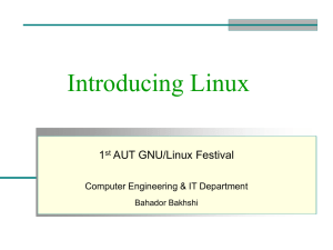 Introducing Linux