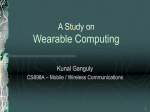 A Study on Wearable Computing