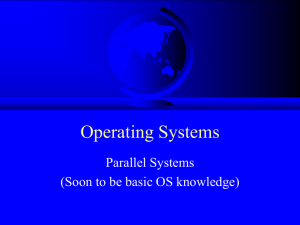 CS 3013 Operating Systems
