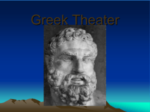 Greek Theater ppt 2