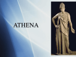 Athena In mythical stories