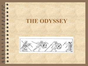 THE ODYSSEY Exploring His World and Ours