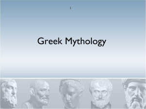 Greek Mythology Power Point