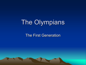 The Olympians - Darcy Krasne