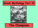 Greek Mythology Part II