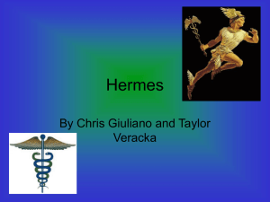 Hermes - Mrs. Seale and Mrs. Iannucci