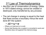 Lecture 5 - Thermodynamics II