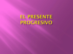 El presente progresivo - Hoffman Estates High School