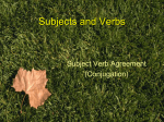 Verb Conjugation Powerpoint