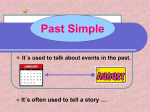 Past Simple - WordPress.com