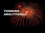 thinking analytically