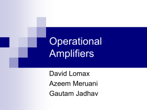 Operational Amplifiers - Georgia Institute of Technology