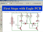 Introduction to Eagle PCB
