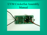 CricketSat Wireless Sensor