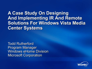 A Case Study On Designing and Implementing IR and