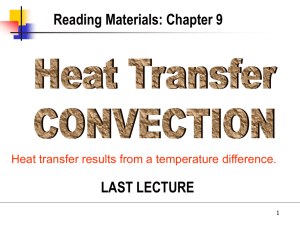 CONVECTION HEAT TRANSFER Figure