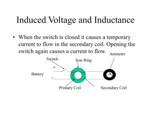 Induced Voltage and Inductance
