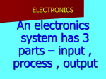 Basic Electronics - World of Teaching