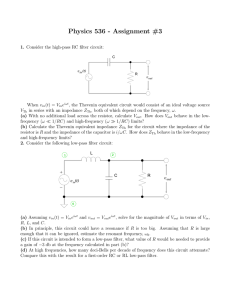 Physics 536 - Assignment #3