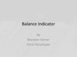 Balance Indicator By Brandon Varner Chris Fleischauer